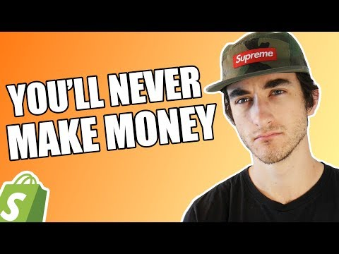 Why YOU'LL NEVER Make Money Dropshipping in 2018 (The Truth)