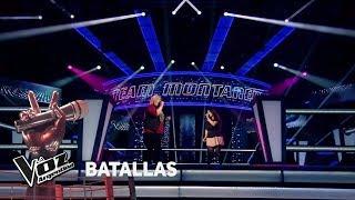 """Isaias Vs Yanina - """"La Gloria De Dios"""" - Ricardo Montaner  - Batallas - La Voz Argentina 2018"""
