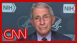 Dr. Fauci gives his thoughts on another potential lockdown