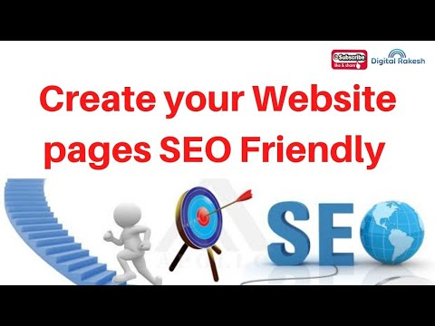 How to Create your Website pages SEO Friendly