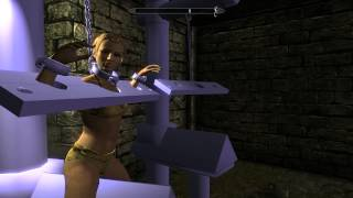 Обзор ужасного секс мода для Скайрима - Female Prison