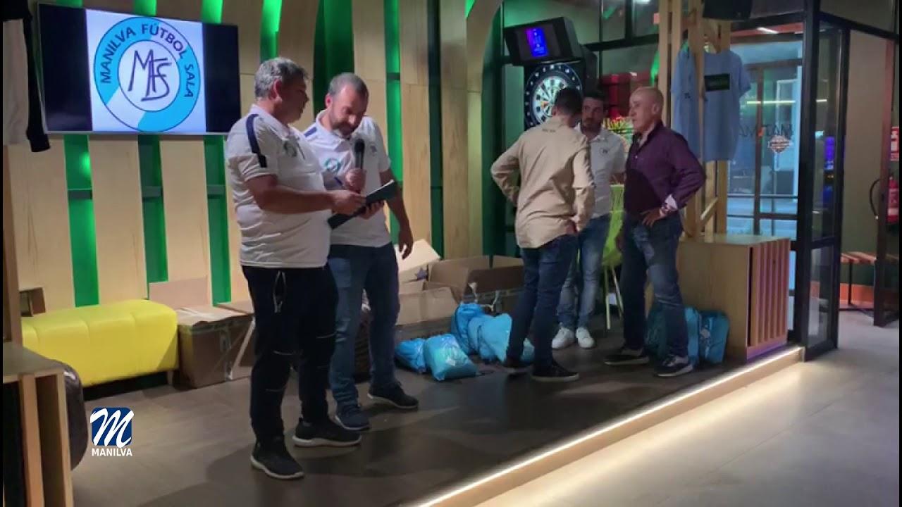 NUEVO MATERIAL DEPORTIVO PARA EL MANILVA FS
