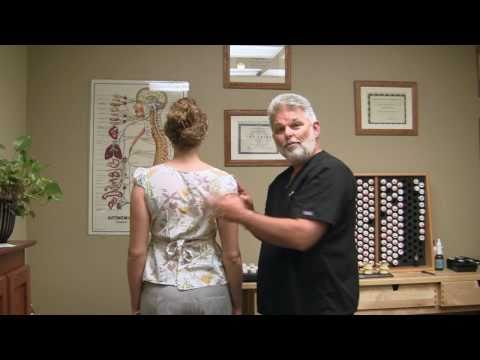 First Time Chiropractor Upper Back Adjustment 1 Demonstration by Austin Chiropractic Care