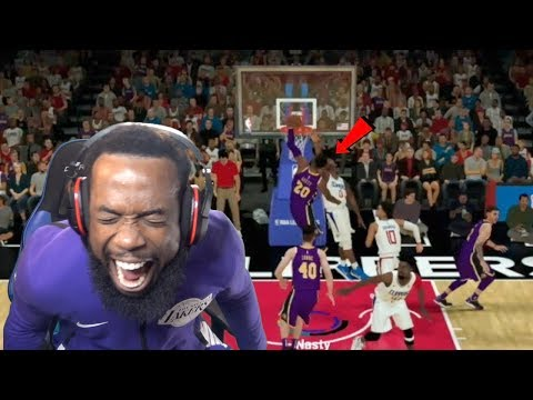 I CAUGHT A BODY! Lakers vs Clippers NBA 2K19 MyCareer Ep 101
