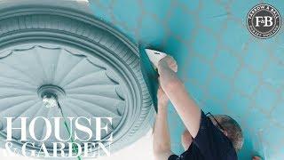 Look Up: Creating A Statement Ceiling | Farrow & Ball | House & Garden