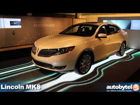 2013 Lincoln MKS Sedan and MKT Luxury Crossover at the 2012 Detroit Auto Show video