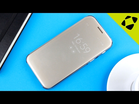 Official Samsung Galaxy A5 2017 Clear View Cover Case Review - Hands On
