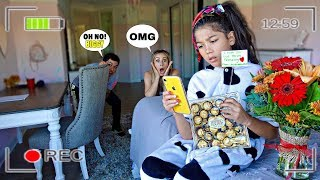 SPYING On Our DAUGHTER And Her CRUSH?! **We Caught Them**