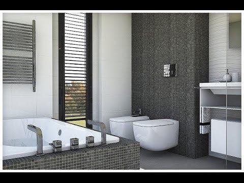 Diseño Interior: Cuartos de baño con bañera y ducha