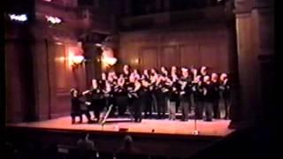 GERSHWIN FINALE (part 1) - 1986 Williams Octet Alumni Concert