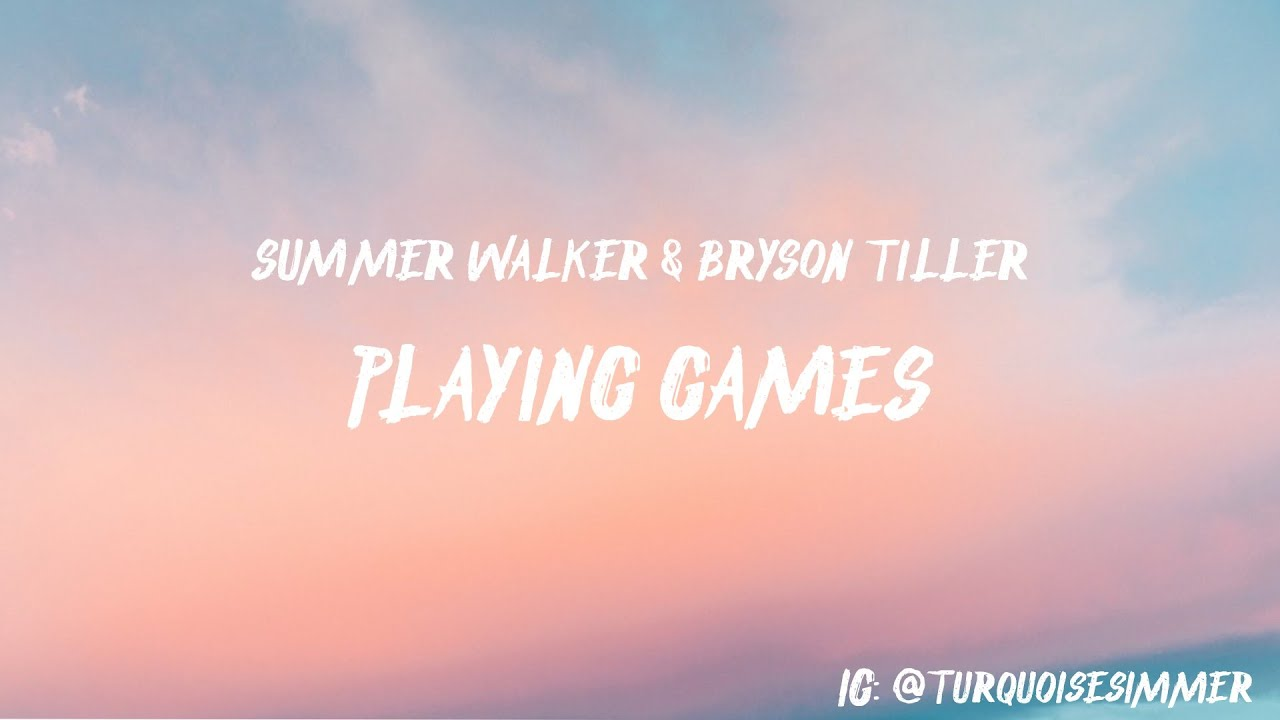 summer walker playing games mp3