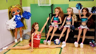 Barbie Doll Cheer Tryouts With LOL OMG Cheerleader - Titi Toys