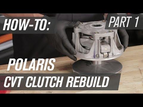 How To Rebuild A Polaris UTV CVT Clutch | Primary Clutch