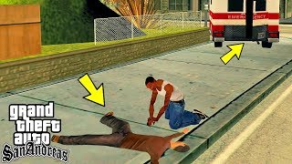 Что будет, если Сиджей вылечит прохожего в GTA San Andreas?