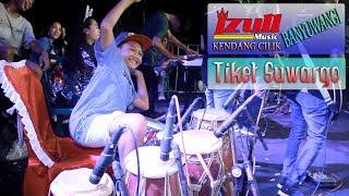 Tiket Suwargo ~ cover KENDANG CILIK BANYUWANGI | Galuh Mareta