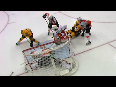 Mason gets back just in time to rob Kessel