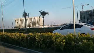 Joy ride along the road of Bahrain going to Marassi Al Bahrain beach (part 3)