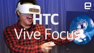HTC Vive Focus hands-on