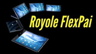 Royole FlexPai First Look | CES 2019