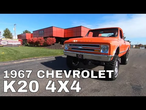 1967 Chevrolet K-20 (CC-1432685) for sale in Plymouth, Michigan