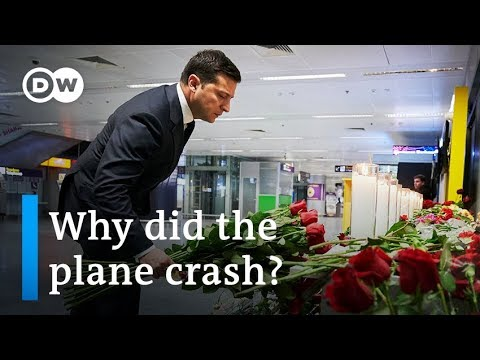 What caused the Ukraine Airlines plane crash in Iran?   DW News