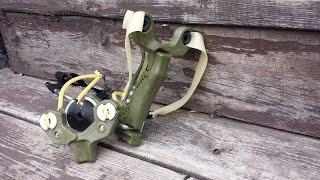 Shooting The Hammer Slingshot Slingbow From Simpleshot