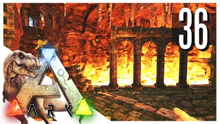 ARK: Survival Evolved - CENTER LOOT CHAMBER WITH A TERROR BIRD