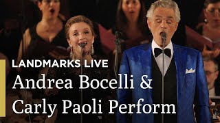 Time to Say Goodbye: Andrea Bocelli and Carly Paoli | Landmarks Live in Concert - Andrea Bocelli