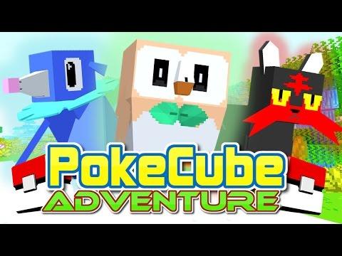 PokeCube Adventure - A NEW JOURNEY! (Minecraft Pokemon Mod) #1