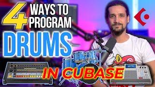 4 Ways To Program Drums In Cubase