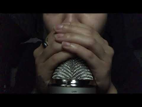 ASMR Intense Mouth & Tongue Sounds   Kissing Sounds   Ear Eating (High Sensitivity)