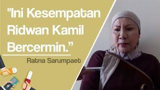 Ridwan Kamil Beralih dari Dukung Prabowo ke Jokowi, Ratna Sarumpaet: Ini Kesempatannya Bercermin