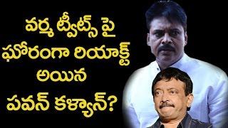 Pawan Kalyan Reaction On RGV Tweets  వర్మ ట్వీట్స్ పై  పవన్ కళ్యాణ్ రియాక్షన్  Top Telugu Media