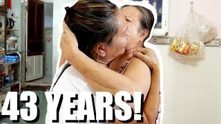 Miracle! She Lost Her Family For 43 Years. (EPIC FAMILY REUNION In VIETNAM) A Kyle Le Doc.