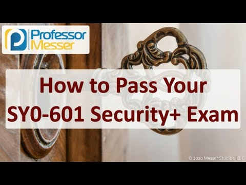 How to Pass your SY0-601 Security+ Exam - YouTube