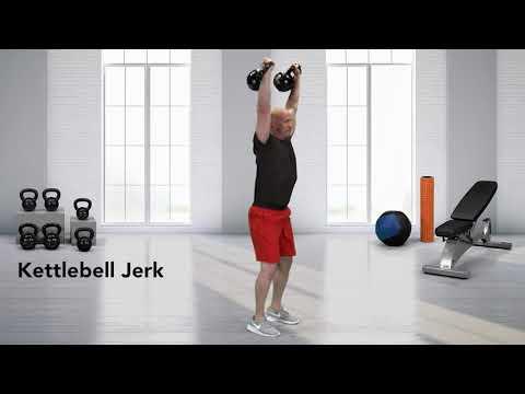How to do a Kettlebell Jerk - YouTube