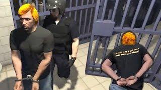 GTA 5 Roleplay - Corrupt Cops Arrest Me & Epic Jail Break (GTA 5 RP)