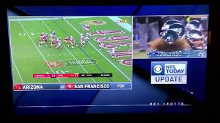 NFL on CBS Today Update: Cardinals @ 49ers on FOX
