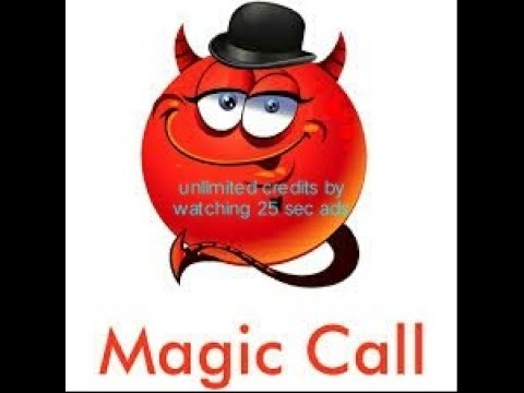 How to get unlimited credits for magic call application 100% working without money by seeing adds