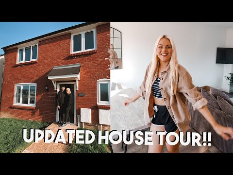 Updated New HOUSE TOUR | Jessica Jayne