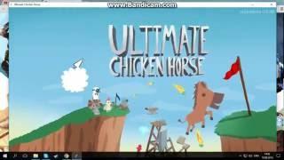 Как скачать и играть с другом по сети в Ultimate chicken horse