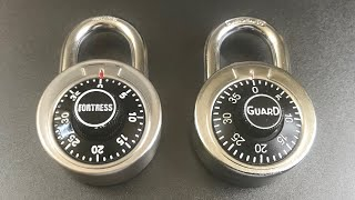 [646] Guard Security 1500 Combination Padlock Decoded FAST