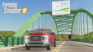 THE IOWA MAP IS BACK! - UPPER MISSISSIPPI RIVER VALLEY (MAP TOUR)