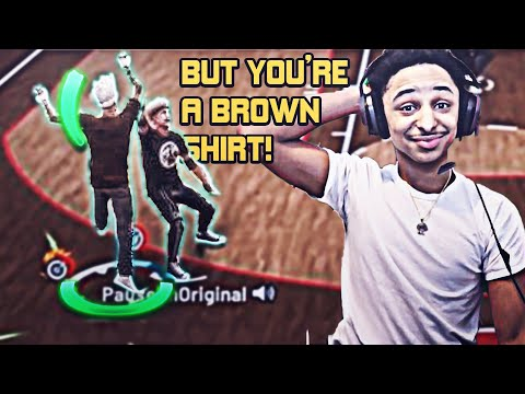 I Pretended To Be A Random And Tryout For The BEST 2K19 CLAN ! ( YALL GOOFY