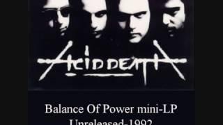 Acid Death-Apathy Murders Hope