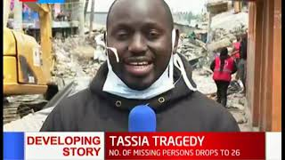 Death toll rises to five following the collapse of a building in Tassia estate, Nairobi
