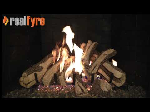 Peterson Western Campyre Gas Logs Demonstration