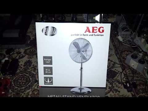 AEG  VL 5527 - Stand-Ventilator
