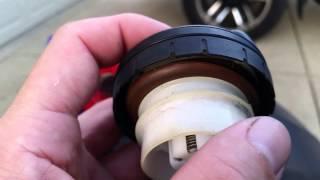Subaru check engine brake traction control cruise light gas cap.