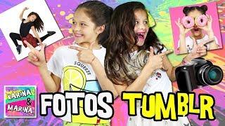 🌸¡¡IMITANDO FOTOS TUMBLR!! ✨ CREANDO Las MEJORES FOTOS TUMBLR Del Mundo: Karina VS Marina